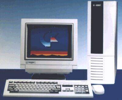 Amiga 4000 v provedení tower