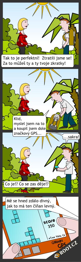 Komiks GPS