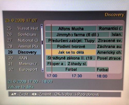 DVB-C - EPG