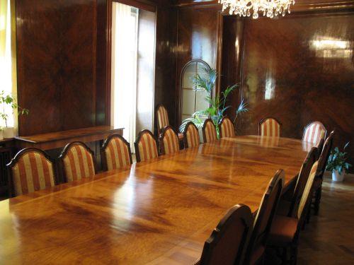 RRTV historická zasedací místnost