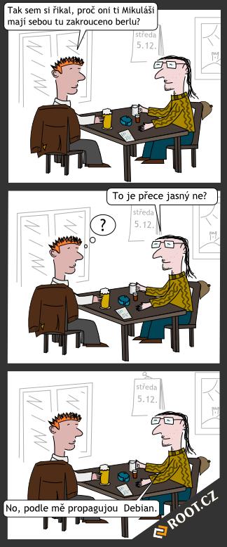 Komiks z hospody