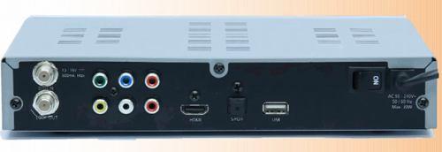Homecast HS2000 CI zadní panel