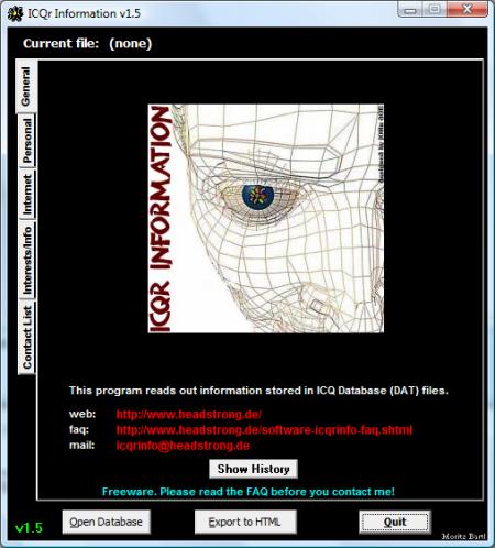 ICQr Information