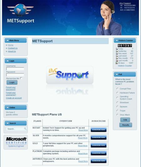 METSupport