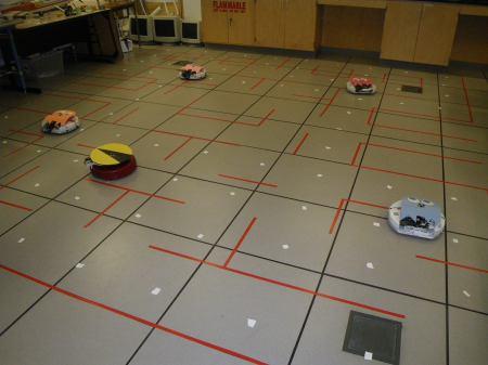 Roomba Pacman