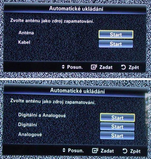 Samsung UE40B8000XW instalace