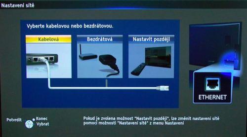 Panasonic P42GT30 nabídka připojení