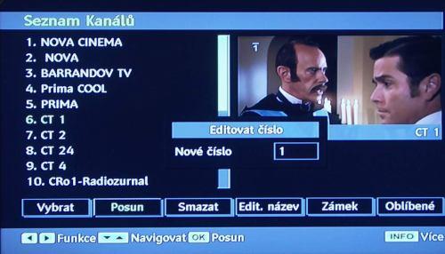 Hyundai HLH 26955 DVD setřídění kanálů