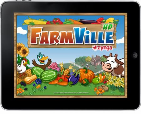iPad FarmVille