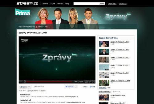 Prima - Stream.cz