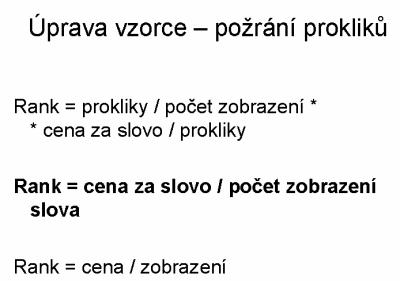Dusan Janovsky - Upravený vzorec, podle kterého moderní PPC syst