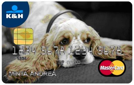 Karta - perzonalizovaná - pes