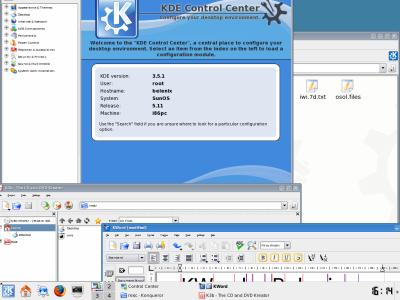 Belenix: KDE