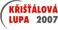 Křišťálová Lupa 2007 - logo