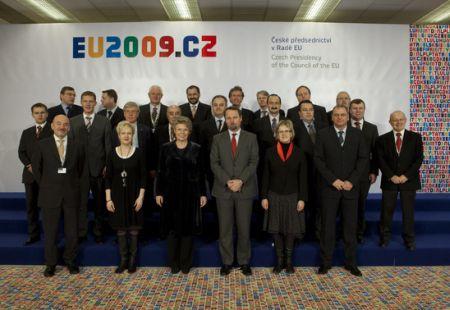 Konference Evropské komise a Rady Evropské unie v Praze