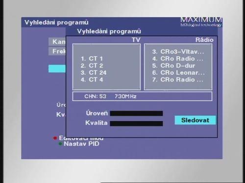 Maximum T-1300 ladění