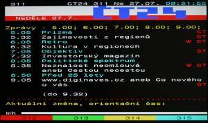 LG Flatron M228WD - teletext
