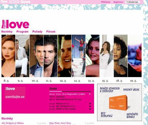 Prima love - web - 8. března 2011