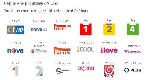 TV Markíza - základní nabídka CS Link