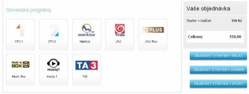 TV Markíza - základní nabídka UPC ČR