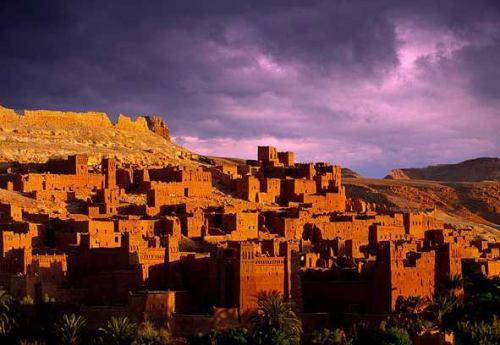 maroko vecerni pohled