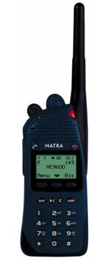 Radiostanice pro systém Tetrapol Matra MC9600