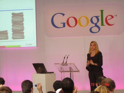 Google Press day 2007 - Marissa Mayer