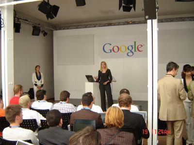 Google Press day 2007 - Marissa Mayer 3