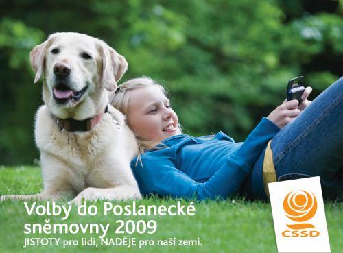ČSSD a pes