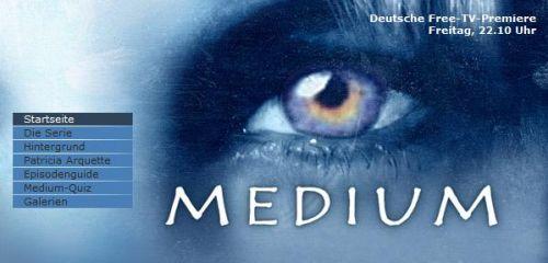 Medium - seriál německy