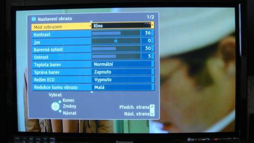 Panasonic TX-P42G15E menu