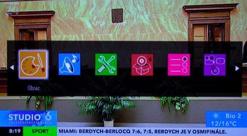 Gogen TVL32915LED - menu