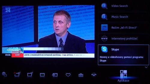Sony KDL-40CX520 Skype