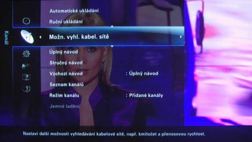 Samsung_PS50B850 menu_kanal_kabel