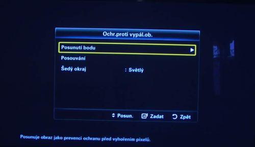 Samsung_PS50B850 vypálení