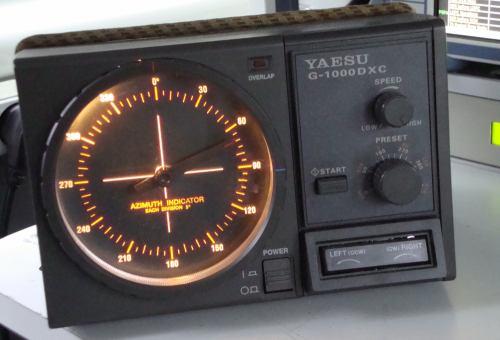 DVB-T2 - rotor měřícího vozu