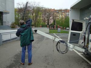 DVB-T2 - měřicí vůz ČRa - 1