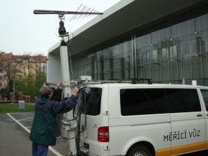 DVB-T2 - měřicí vůz ČRa - 4