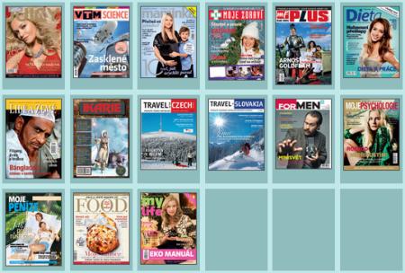Časopisy vydávané Mladou frontou