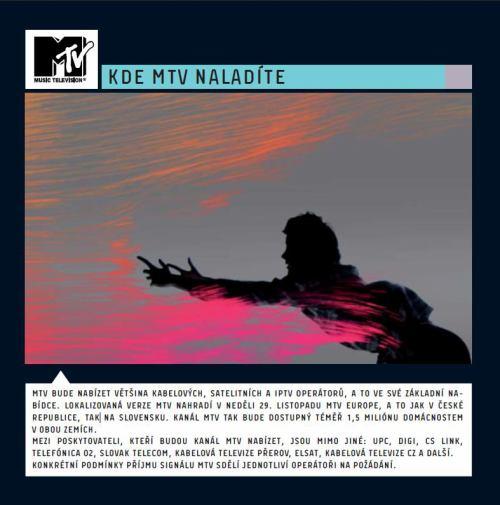 MTV Czech - operátoři