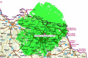 Mux 1 - pokrytí Ostrava Hladnov