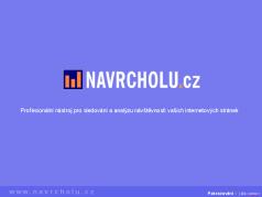 Prezentace funkcí NAVRCHOLU.cz