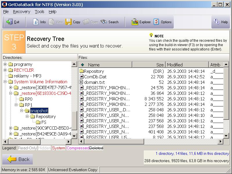 getdataback for fat/ntfs 4.33 full crack+serial key