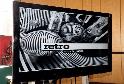Retro Music Television obrazovka