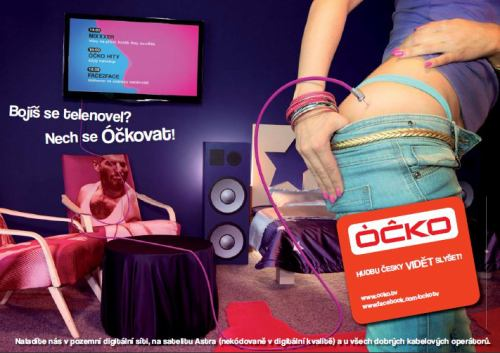Óčko - image kampaň, duben 2011