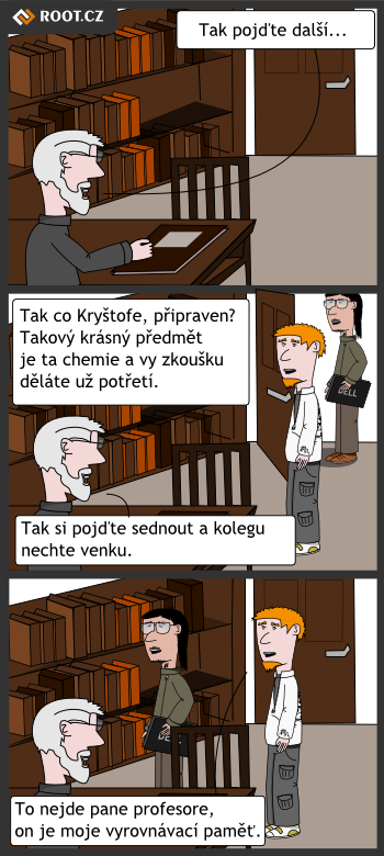 Komiks - opravna zkouska