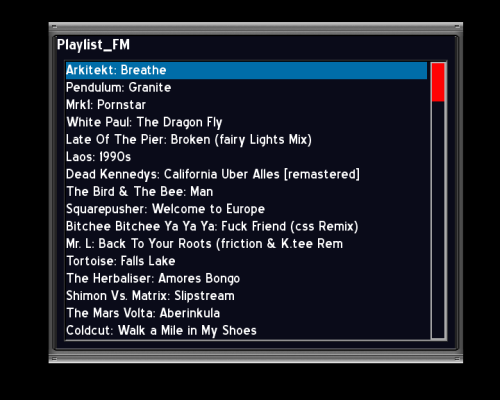 AB IP Box 250S playlist