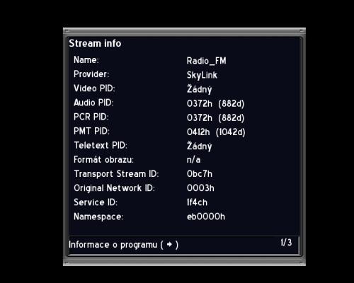 AB IP Box 250S stream data