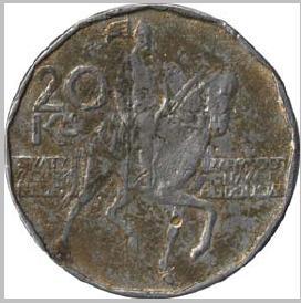 padělaná mince