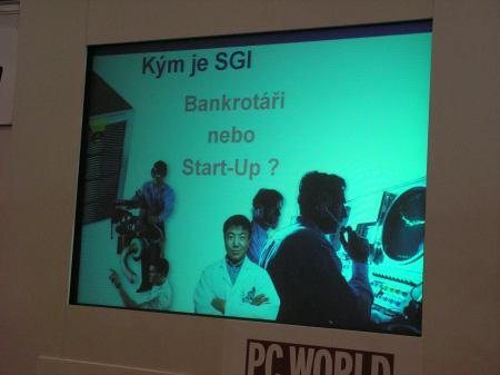 SGI startup